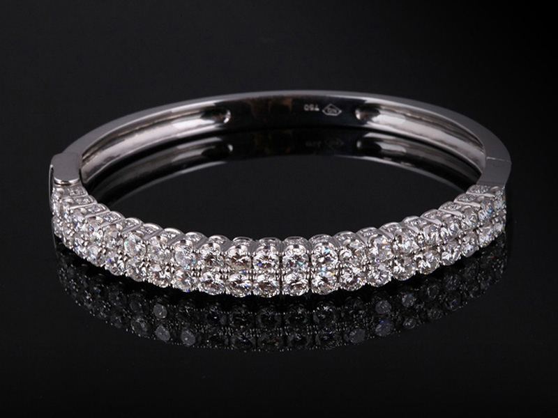 Vòng tay Kim cương thiên nhiên VK 232 1