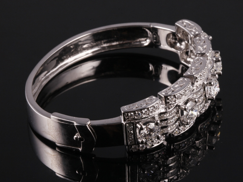 Vòng tay Kim cương thiên nhiên VK 64 2
