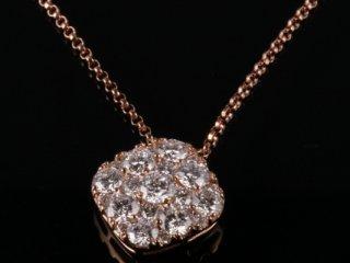 Dây chuyền Kim cương thiên nhiên DK 34
