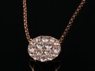 Dây chuyền Kim cương thiên nhiên DK 35