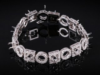 Lắc tay Kim cương thiên nhiên