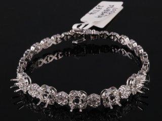 Lắc tay Kim cương thiên nhiên LK 48