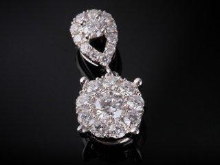 Mặt Dây kim cương thiên nhiên MK 194