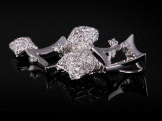 Mặt Dây kim cương thiên nhiên MK 200