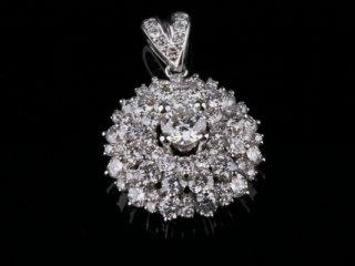 Mặt Dây kim cương thiên nhiên MK 223