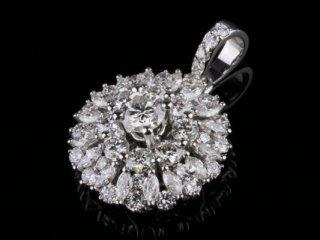 Mặt Dây kim cương thiên nhiên MK 229