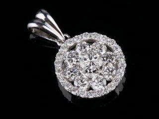 Mặt Dây kim cương thiên nhiên MK 230