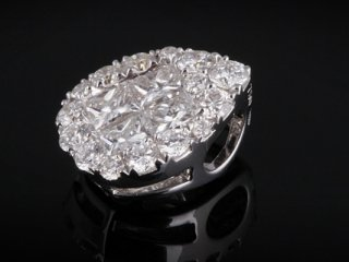 Mặt Dây kim cương thiên nhiên MK 26