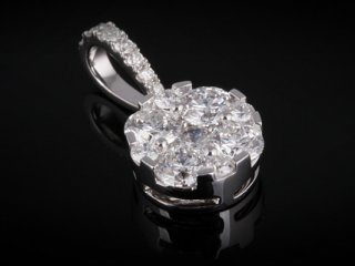 Mặt Dây kim cương thiên nhiên MK 30