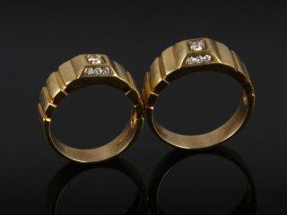 Nhẫn cưới Kim cương NC 486 - 487