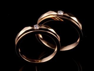 Nhẫn cưới vàng hồng NC 1654- NC 1655