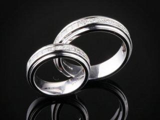 Nhẫn cưới kim cương NC 1428 - NC 1429