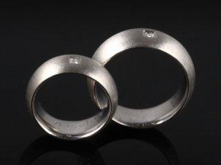 Nhẫn cưới vàng trắng NC 548 - NC 549