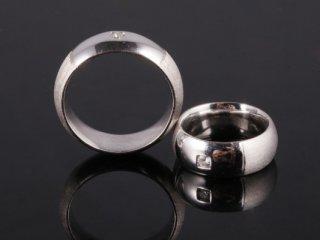 Nhẫn cưới vàng trắng NC 582 - NC 583