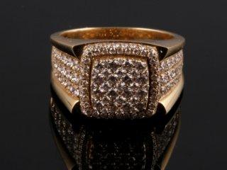Nhẫn kim cương thiên nhiên NK 1073