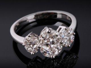 Nhẫn kim cương thiên nhiên NK 261