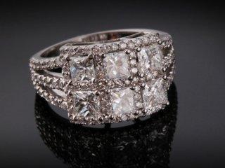 Nhẫn kim cương thiên nhiên NK 373