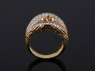 Nhẫn nữ vàng ý 18 k N 326