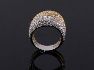 Nhẫn nữ vàng ý 18 k N 485
