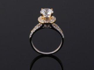Nhẫn vàng 2 màu N 397