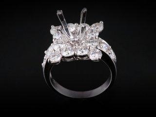 Ổ Nhẫn Kim cương Nữ NK 2356