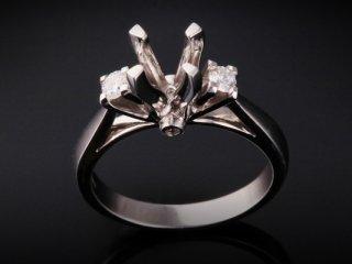 Ổ nhẫn kim cương thiên nhiên NK 152