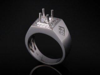 Ổ Nhẫn kim cương thiên nhiên NK 397