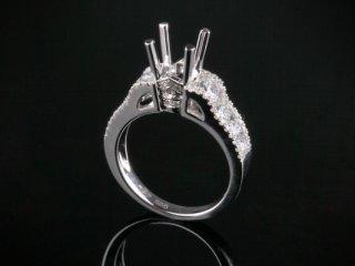 Ổ nhẫn kim cương thiên nhiên NK 561