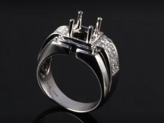 Ổ Nhẫn kim cương thiên nhiên NK 668